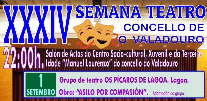 XXXIV SEMANA TEATRO CONCELLO DE O VALADOURO