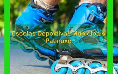 Escolas Deportivas Municipais: Patinaxe.